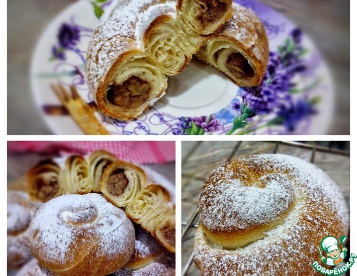 Рецепт: Испанские булочки Энсаймадас