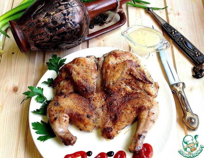 Рецепт: Цыпленок Табака