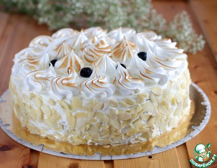 Рецепт: Торт Снежный