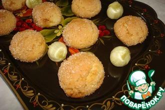 Рецепт: Печенье с карамельной крошкой