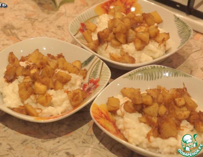 Рецепт: Рисовая каша на кокосовом молоке
