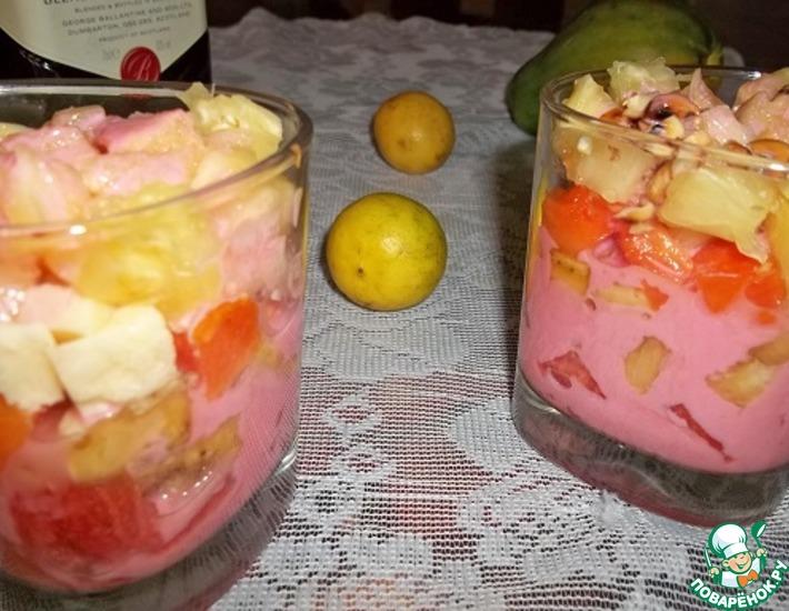 Рецепт: Фруктовый салат