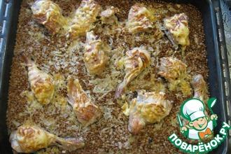 Рецепт: Гречка с курицей Быстрый ужин