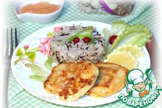 Рецепт: Рыбное филе в кляре с рисом