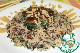 Рецепт: Салат с чуккой и угрем