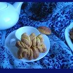 Тыквенно-коричное печенье Хризантемы