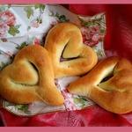 Хлебные валентинки