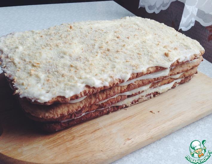 Рецепт: Торт Рыжик