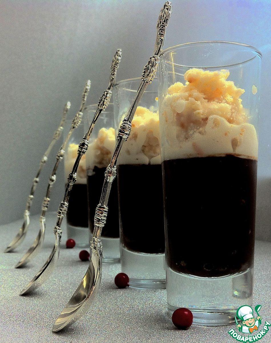 Рисово-молочная гранита с шоколадным трюфелем