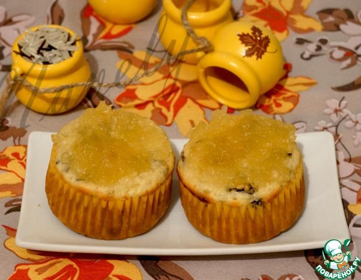 Рецепт: Рисовые кексы с ананасом