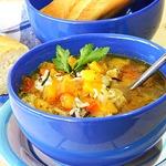Густой вегетарианский суп