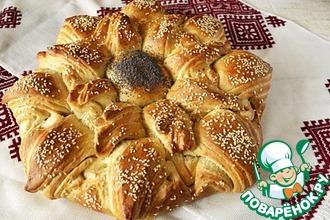 Рецепт: Хлеб Солнце