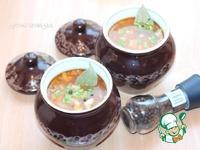 Суп с беконом и рисом в горшочке ингредиенты