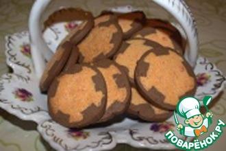 Рецепт: Печенье Колесики