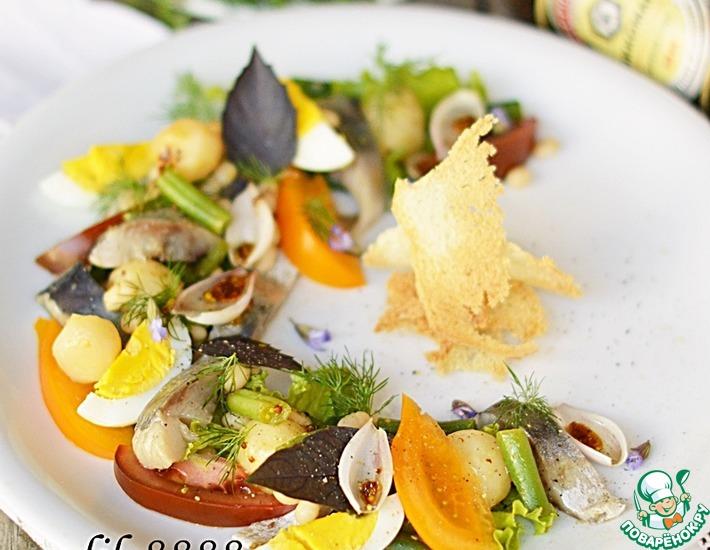Рецепт: Салат с сельдью
