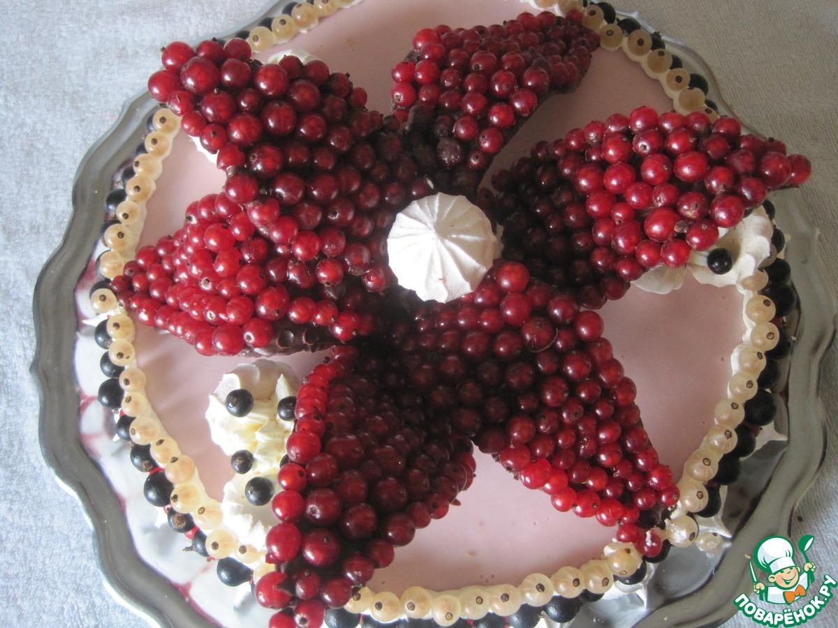 """Торт """"Аленький цветочек"""""""