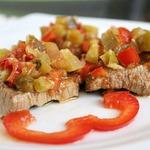 Говядина Маринейро под овощами