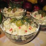 Салат из кильки с яблоком и свеклой