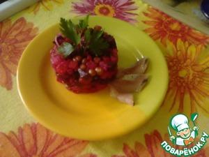 Рецепт Винегрет с печёными овощами
