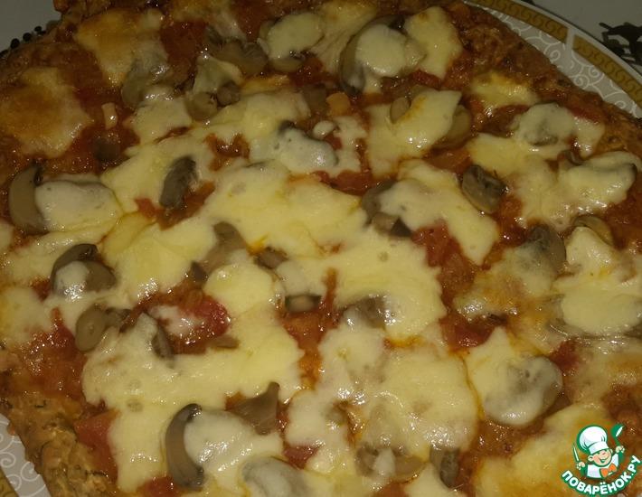 Рецепт: Пицца из цуккини