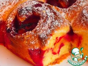 Чешский пирог со сливами рецепт