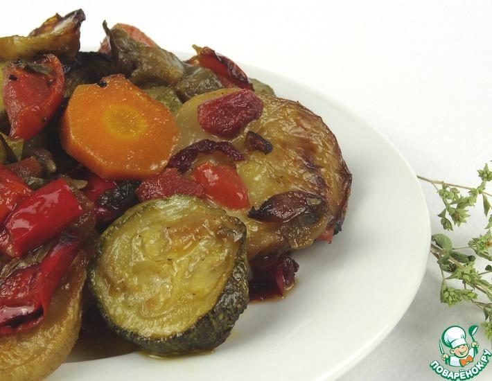 Рецепт: Греческое овощное рагу Бриам