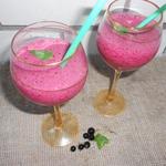 Черносмородиновый коктейль