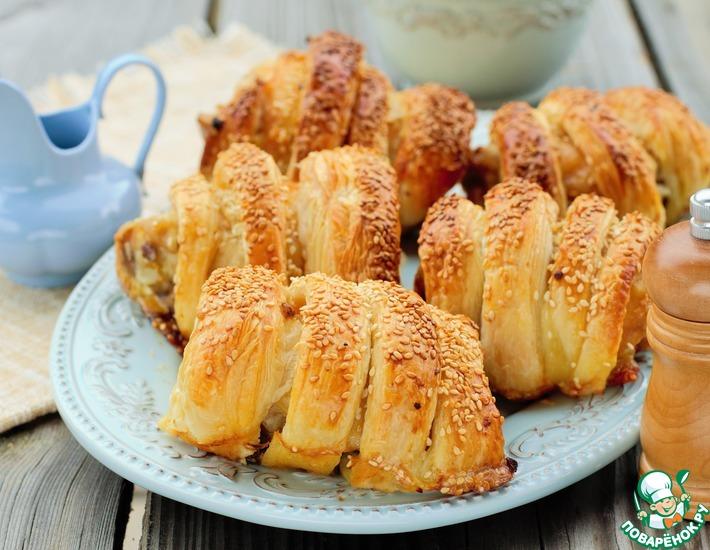Рецепт: Куриные бёдра в тесте с сыром