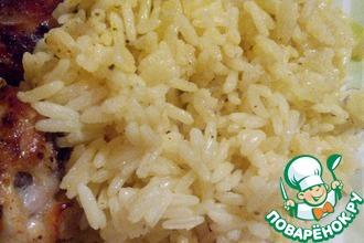 Рецепт: Рассыпчатый рис на гарнир