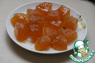 Рецепт: Апельсиновый мармелад за 10 минут