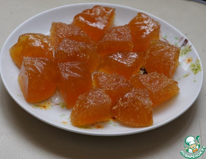 Апельсиновый мармелад за 10 минут