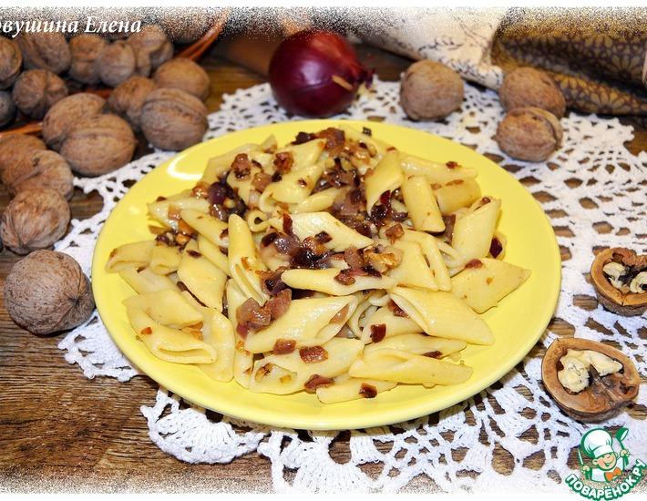Рецепт: Паста ореховая с луком