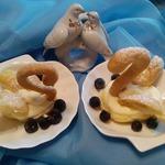Заварные пирожные Лебединая верность