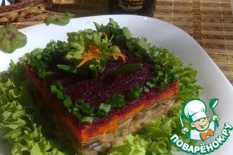 Рецепт: Постный салат с соевым соусом
