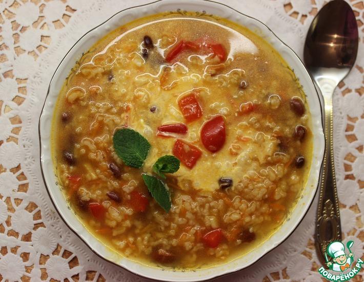 Рецепт: Красный английский суп