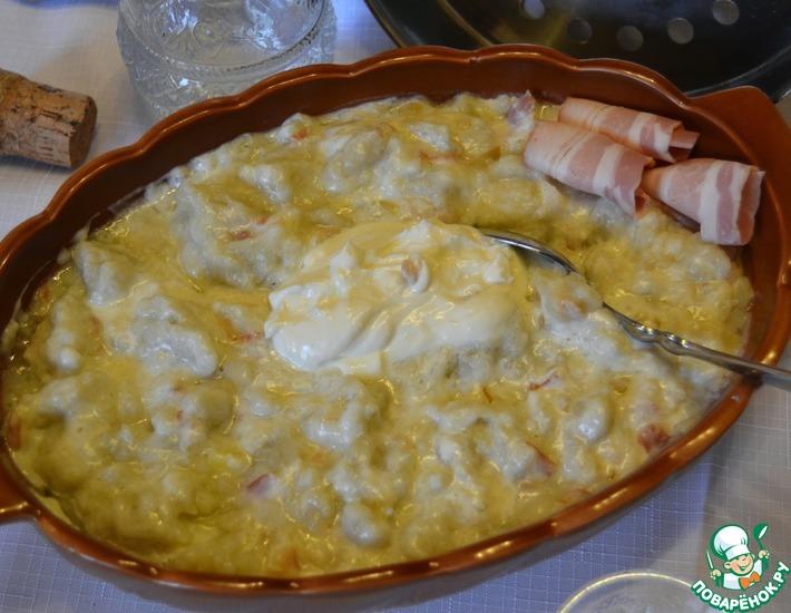 Рецепт: Словацкое национальное блюдо Брынзовые галушки