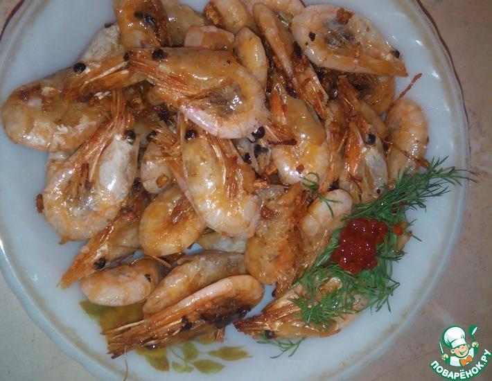 Рецепт: Креветки по-балтийски
