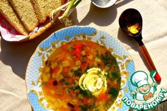 Рецепт: Баклажановый суп