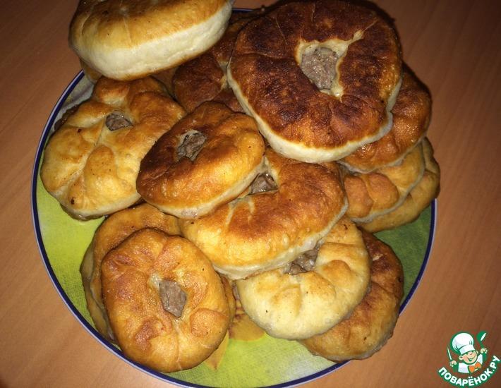 Рецепт: Бабушкины татарские беляши