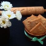 Песочное овсяное печенье