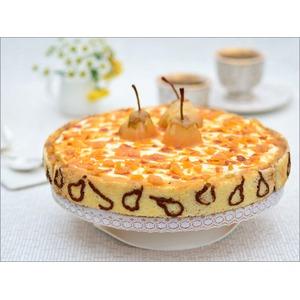Торт Груши в карамели