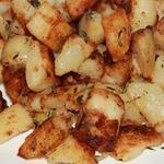 Печеный картофель без духовки
