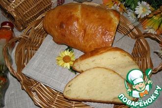 Рецепт: Хлеб на манной каше