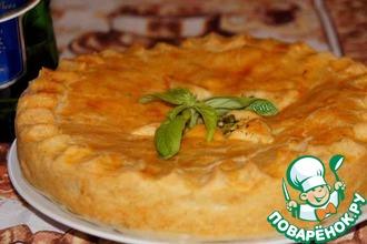 Рецепт: Рыбный пирог на пиве