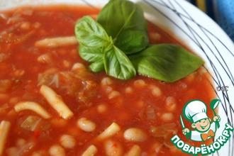 Рецепт: Тихоокеанский суп с кальмарами