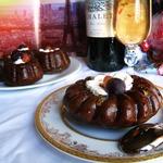 Шоколадные мини-саварены