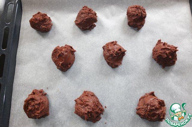 "Шоколадное печенье ""Каштаны"""