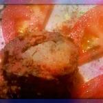 Печеночные блинчики с картофелем и сметанным соусом