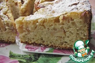 Рецепт: Яблочный пирог на закваске