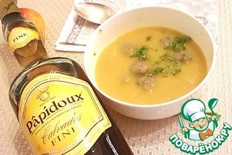Рецепт: Овощной суп Потаж о легюм по-нормандски